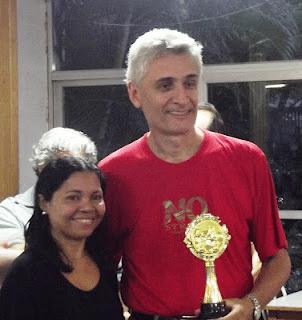 Mascarenhas em recente torneio realizado em memória do Professor Amorim