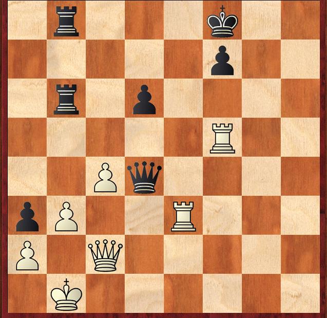 Branco joga e mate em oito lances.