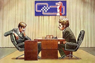 Fischer vs Spassky 72