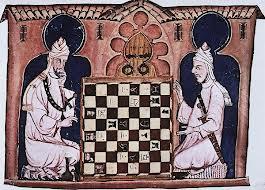 Califas jogando Xadrez