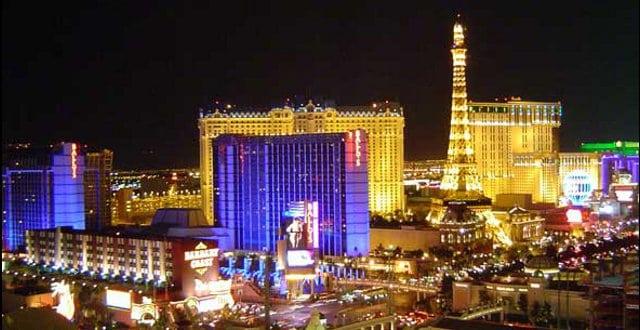 O hotel sede do torneio em Las Vegas