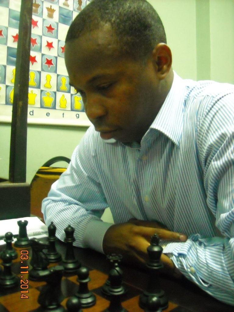 Antônio PInheiro - Federação Angolana de Xadrez