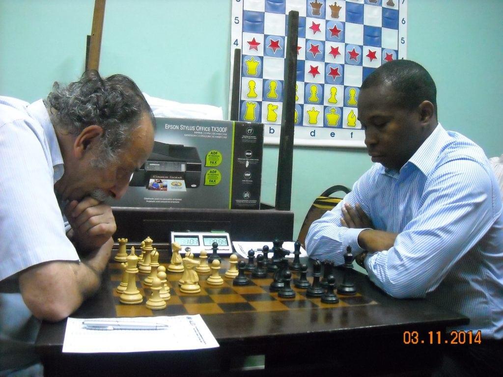 A partida Juarez Lima vs Antônio Pinheiro