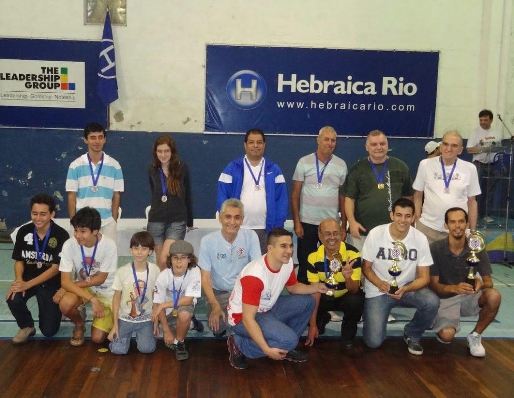 Os vencedores do torneio!