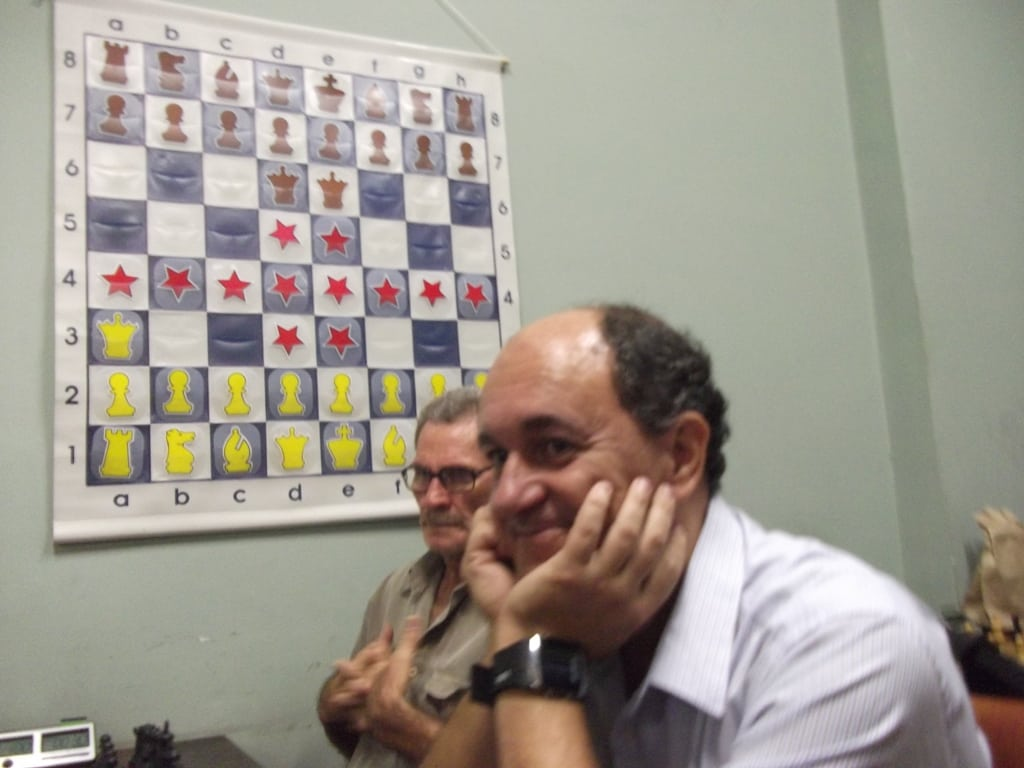 A satisfação em jogar um bom Xadrez!