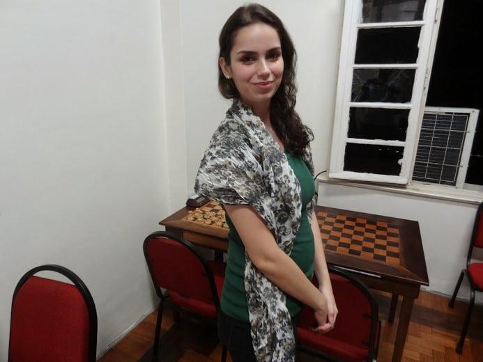 A Beleza do Casal Beleza, enxadrista Karina Abrahin