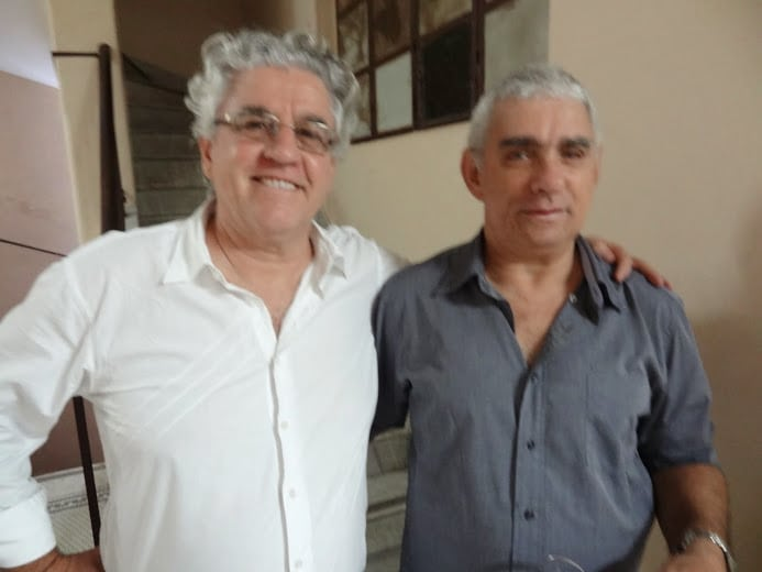 Alvaro Frota faz self distance com o Campeão Brasileiro 75 e 87 Carlos Eduardo Golveia
