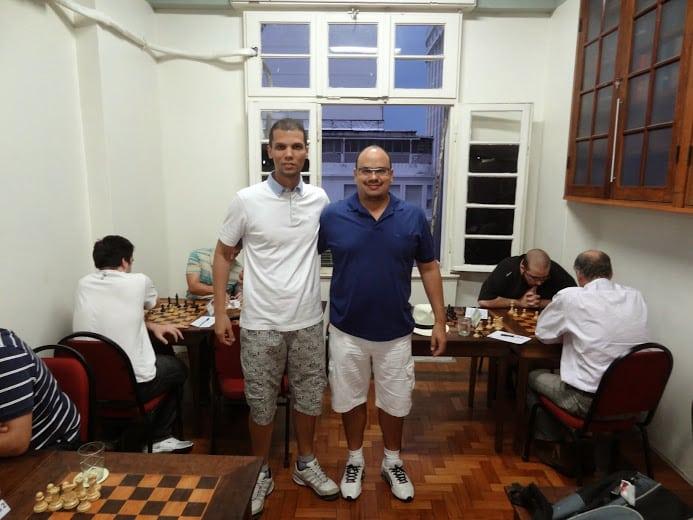André Kemper e Sérgio Patrício