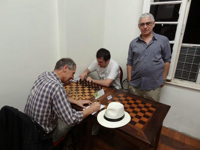 Carlos Eduardo Gouveia - Campeão Brasileiro 1975 e 1987 deu o lance inicial na partida Limp vs Della Morte