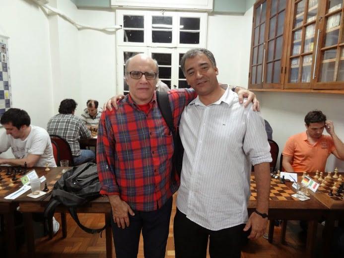 Mesquita e Marcelo dos Souza Santos á frente das partidas
