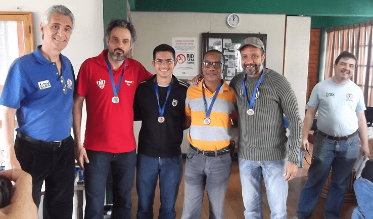 A equipe Padrão do Tijuca Tênis Clube foi Vice-Campeã do Torneio Blitz