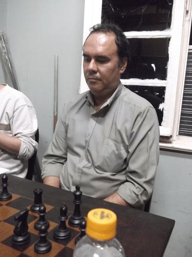 David Rabello, sempre presente nos torneios internos da ALEX, é o oitavo inscrito!