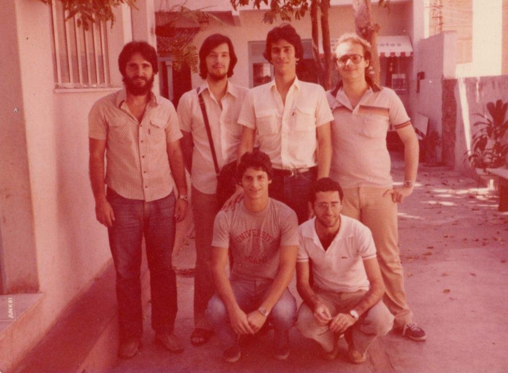 Foto 4 - 1979 - Diretoria da ALEX no biênio 1979 a 1980
