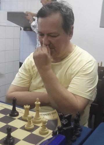 O alexano Hermann Mathow competiu na modalidade de Xadrez Rápido.