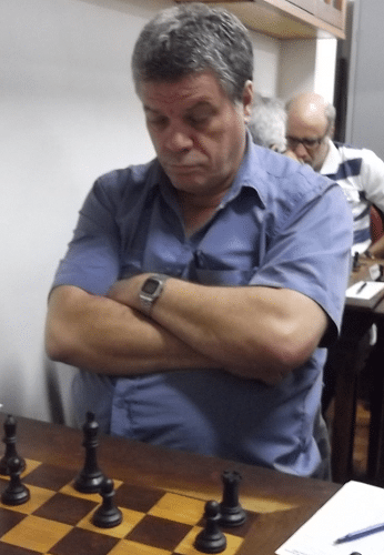 O hexacampeão Sérgio Murilo foi o décimo nono enxadrista a se inscrever!