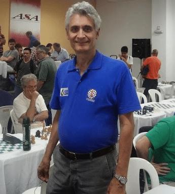 Mestre FIDE Alberto Mascarenhas - Presidente da FEXERJ