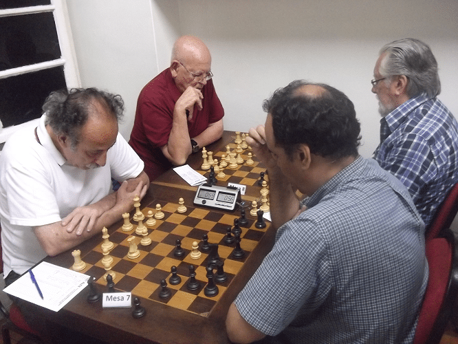 As partidas Juarez Lima vs David Rabello e Irahy Ribeiro vs Fortunato Garcia