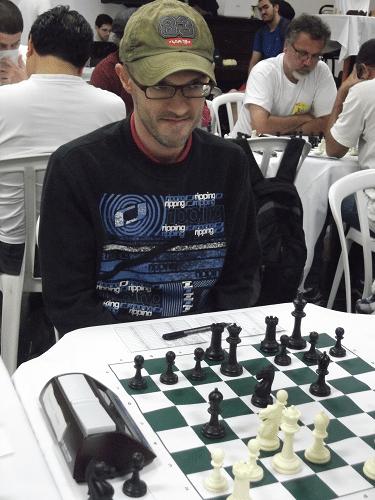 Francesco Noseda é sócio da ALEX e federado pelo Clube de Xadrez Guanabara