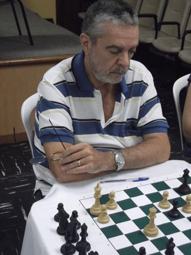 Luiz Sérgio Tiomno federado pela AABB do Rio de Janeiro.