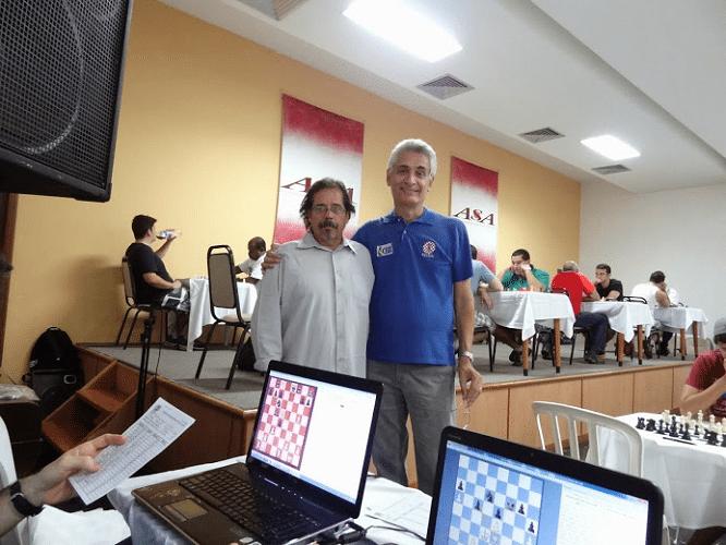 Alberto Mascarenhas e Élcio Lofredo Mourão