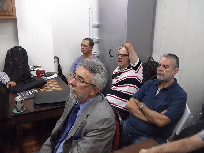 Marcos Diaz, Jéferson de Mello Menezes, José Carlos Mesquita e Luiz Sérgio Tiomno