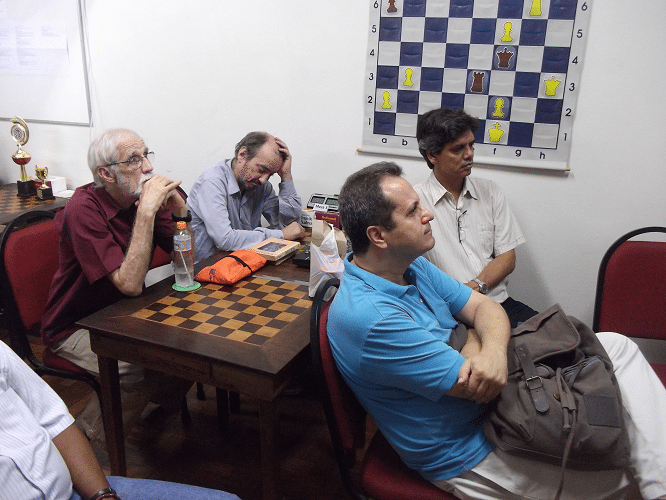 Sérgio Sundaus, Hilton Rios, Fernando Madeu e Cláudio Pedroso