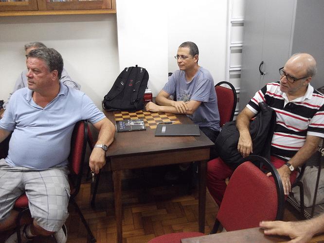 Sérgio Murilo, Jéferson de Mello Menezes e José Carlos Mesquita.