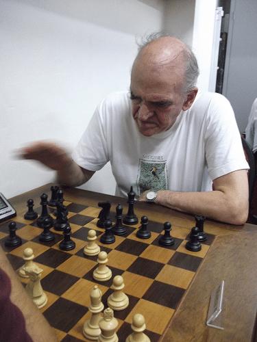 Carlos Alves Rolim, sócio da ALEX e federado pela AABB