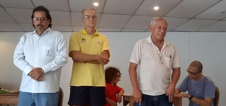 Elcio Mourão foi o Árbitro e Rafael Pires o Diretor da Prova
