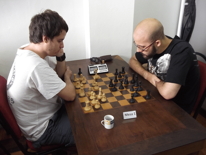 1ª rodada - Leo Simões vs Renato Werner