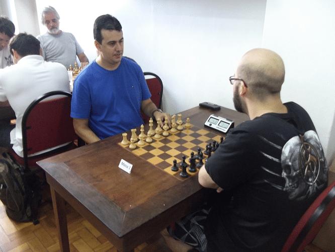 Terceira rodada - Estevão  Luiz Soares foi batido por Renato Werner