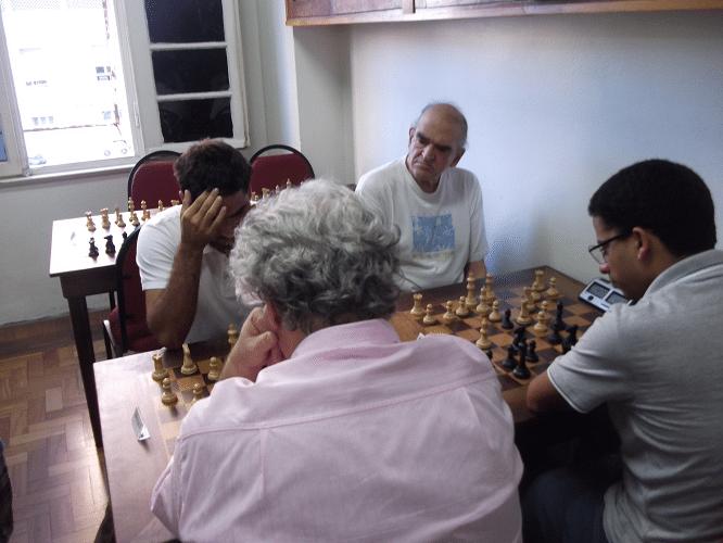 Quarta rodada - Outra visão das partidas Ricardo Faria e Carlos Rolim vs Álvaro Frota e Juan Pablo