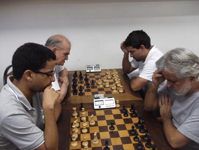 Quinta rodada - Juan Pablo venceu Luiz Alberto da Luz e Ricardo Faria