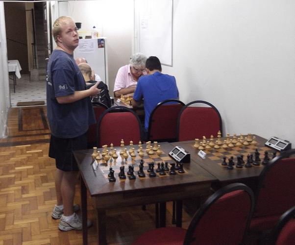 5a rodada - Oscar Weibul vs Bye