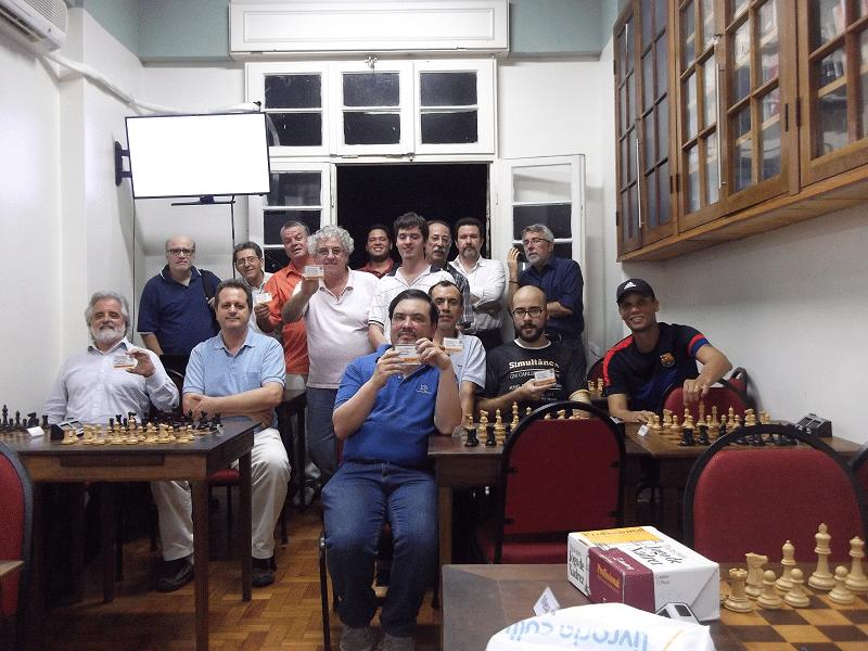 A foto oficial do torneio