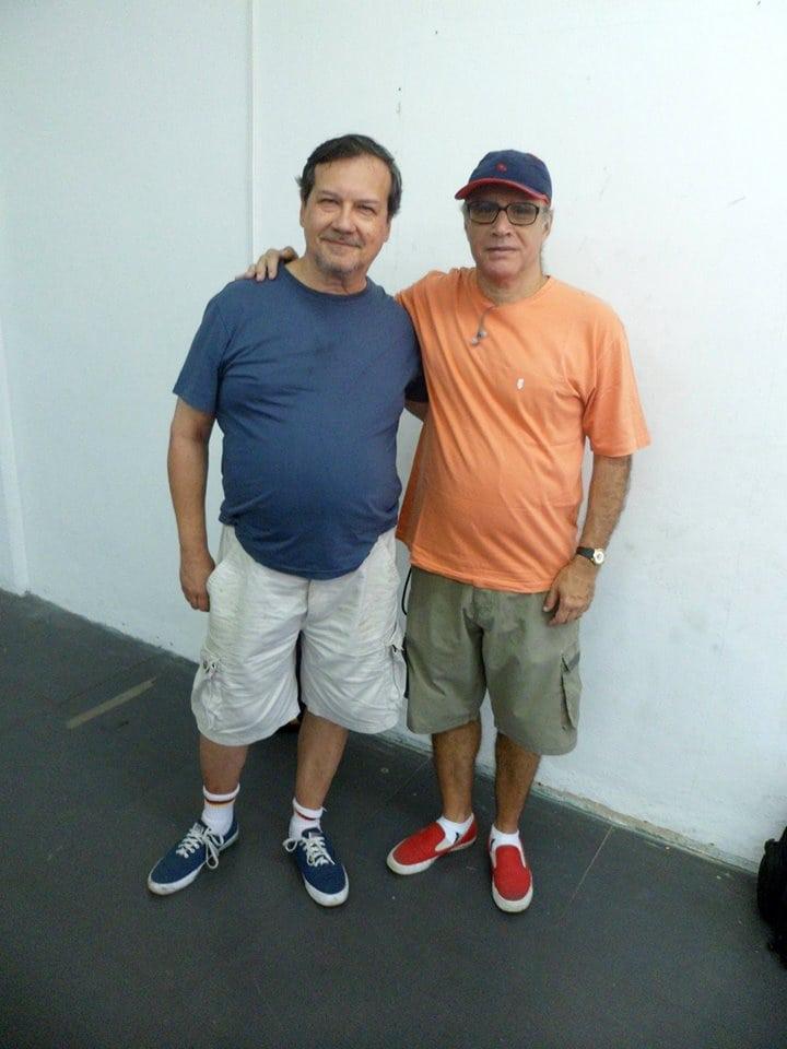 Hermann Mathow e José Carlos Mesquita