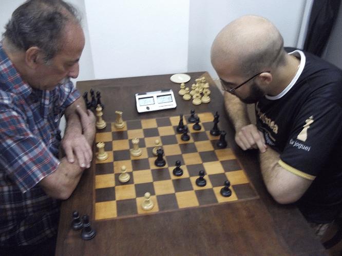 Na mesa 1, Juarez enfrenta Werner