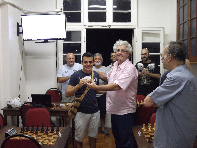 Premiação - Oscar Solano Rueda Campeão Classe C