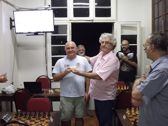 Premiação - Tarcísio Leite Campeão Classe B