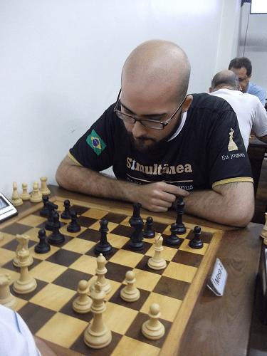 Renato Werner, atleta do Clube Municipal