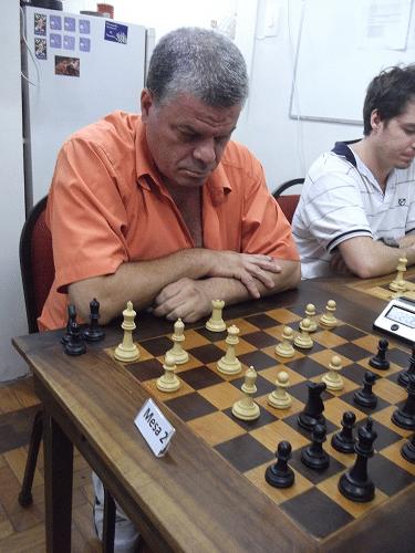 Sérgio Murilo caprichando na cara de malvado