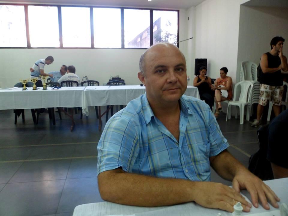 O amigo da casa Tarcísio Dantas Frota Leite também participou do campeonato.