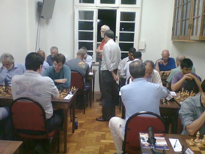Rodada final de um Torneio Interno da ALEX em 2015