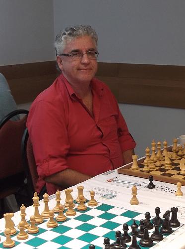 Álvaro Frota, rating 2057, federado pela ALEX, fez 5 pontos e ficou na 11ª classificação