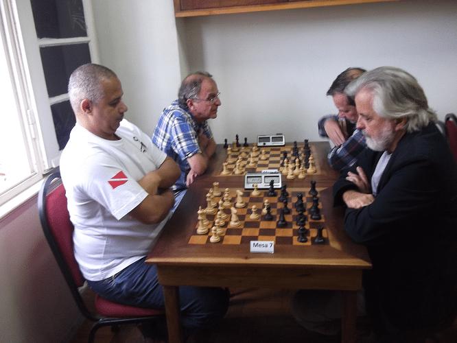 José Cláide Barros Teixeira vs Luiz Alberto da Luz - Eduardo Ribeiro Gomes vs Hermann Mathow.