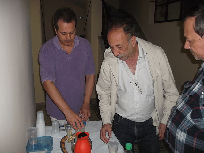 Fernando Madeu, Juarez Lima e Hermann Mathow