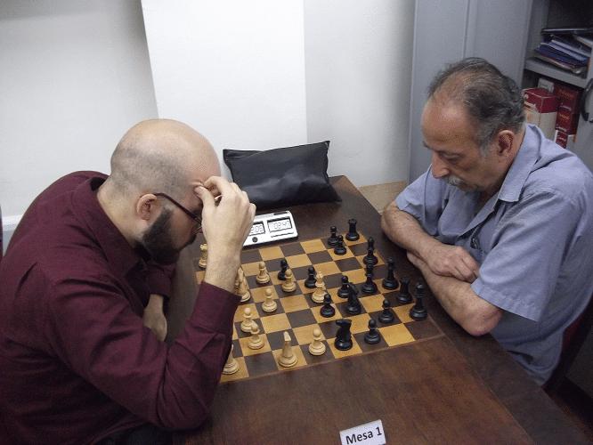 1ª rodada - Renato Werner venceu Juarez Lima