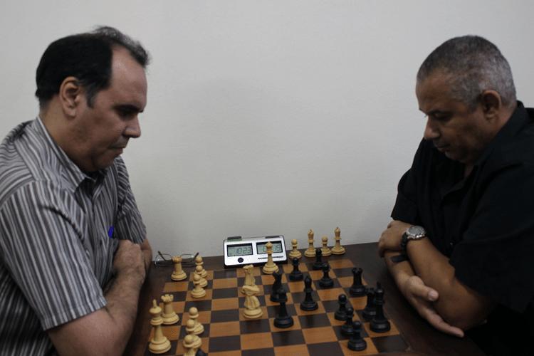 2ª rodada - David Rabello ganhou de Cláide Teixeira Barros, que jogou de negras