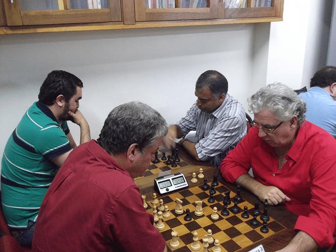 2ª rodada - Iago Henrique venceu Marcelo Santos Silva e Sérgio Murilo perdeu para Álvaro Frota