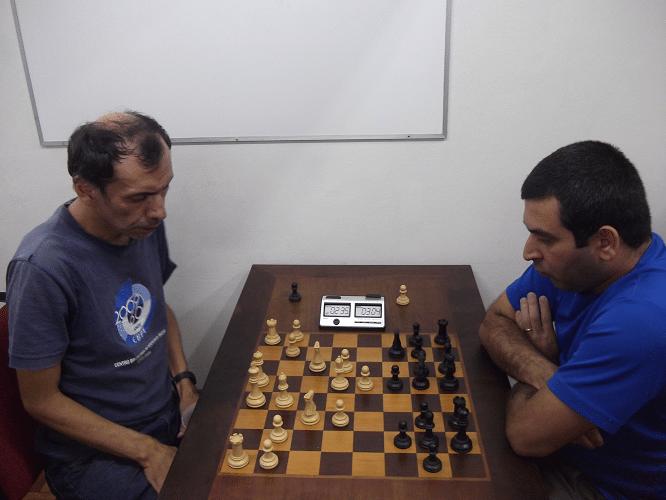 2ª rodada - José Luís Chauca perdeu para Paulo Adriano Matozo